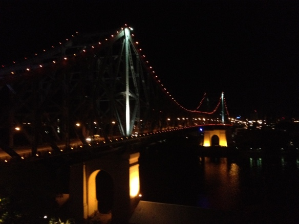 brisbane story bridge.