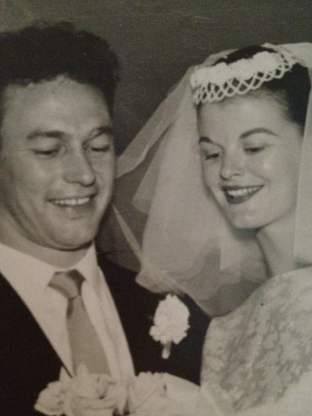 my nan and pa. sweethearts for many years.