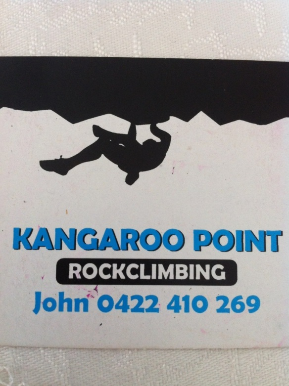 Kangaroo Point Rock Climbing Brisbane