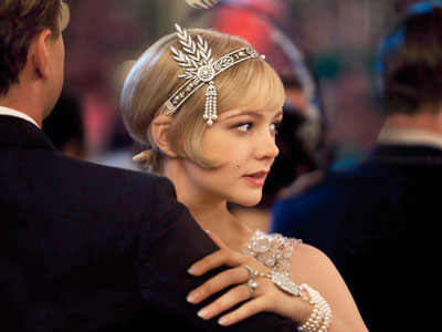 Carey Mulligan headpiece Gatsby
