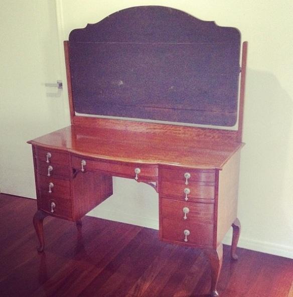 Great Grandma Jessie's dresser.